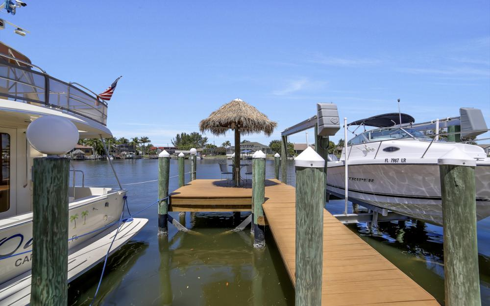 3405 SW 8th St, Cape Coral - Waterfront Gulf Access Home For Sale 93857170
