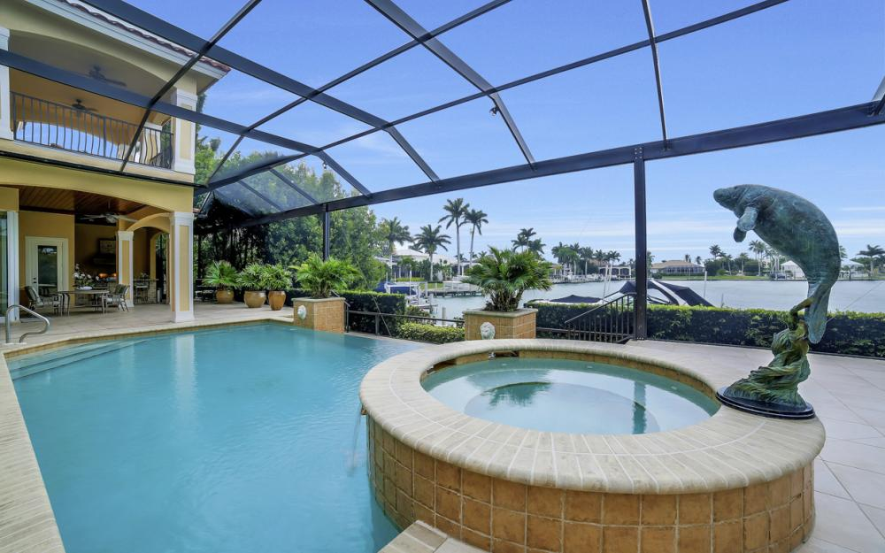 1771 Ludlow Rd, Marco Island - Waterfront Gulf Access Home For Sale 1815107108