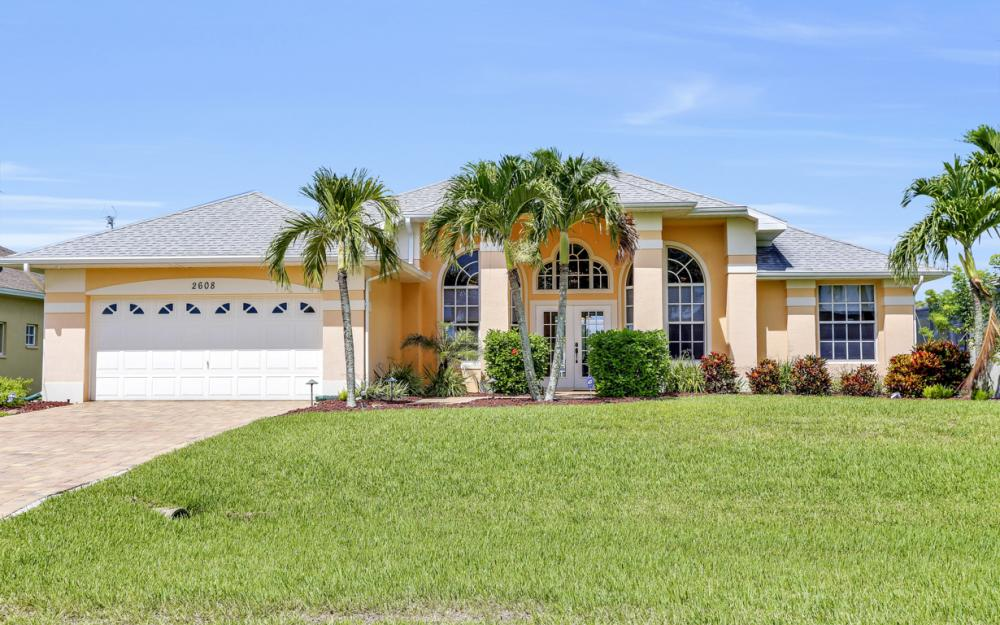 2608 SW 27th Pl, Cape Coral - Vacation Rental 2110630909