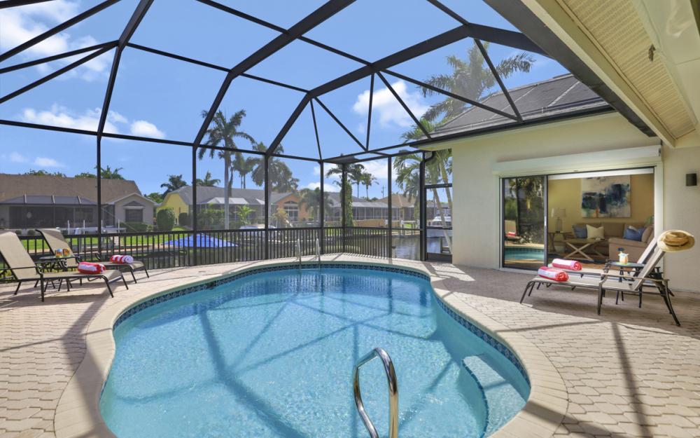 1504 SW 54th Ter, Cape Coral - Vacation Rental 2103608621