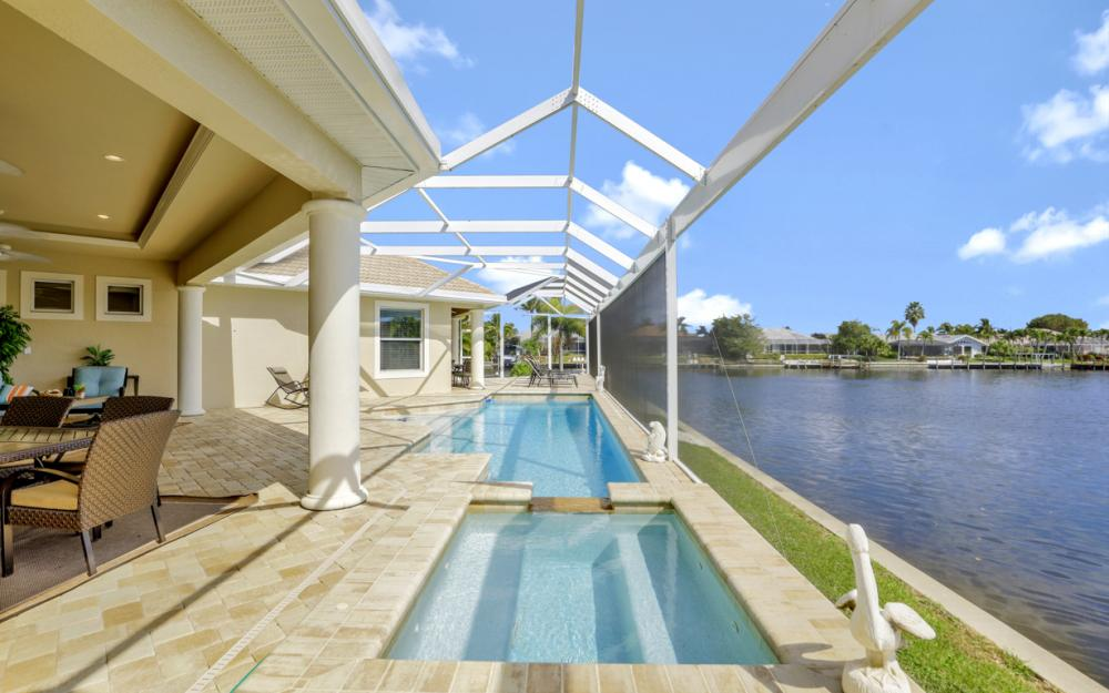 2502 SW 52nd Ln Cape Coral - Vacation Rental  2083307348