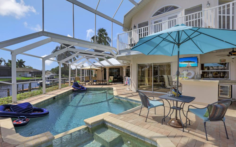 1401 SW 53rd Ln, Cape Coral - Vacation Rental 2114978399