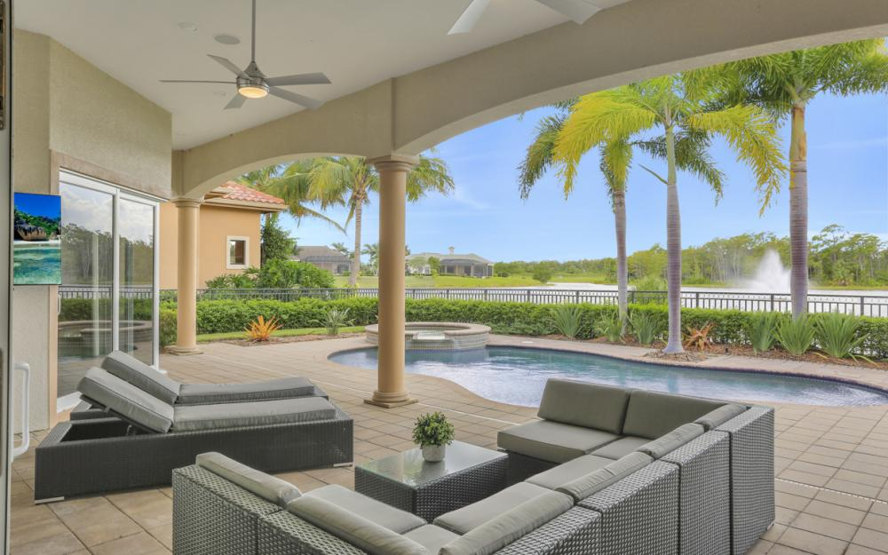 9558 Via Lago Way, Fort Myers - Luxury Home For Sale 215110886